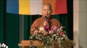 【「中華四聖諦佛教會」成立大會 明毓法師致詞】